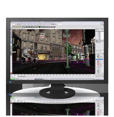 Zdjęcie monitora EIZO FlexScan SX2462W