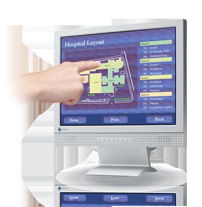 Zdjęcie monitora EIZO FlexScan L363T-C