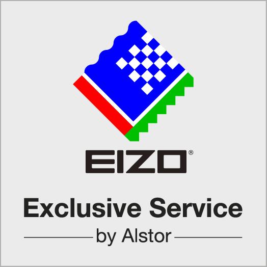 Logotyp - EIZO Exclusive Service by Alstor-RGB(2013-01)