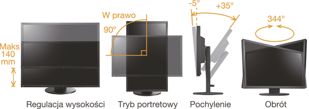 ergonomiczna konstrukcja