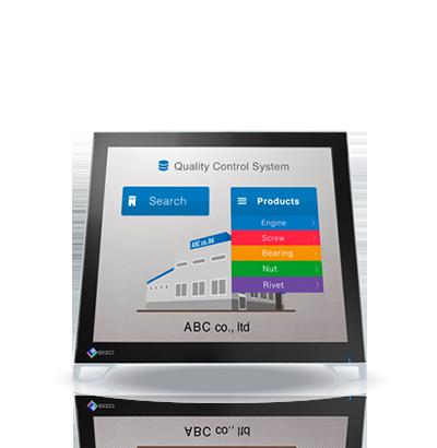 Zdjęcie monitora EIZO DuraVision FDS1782T