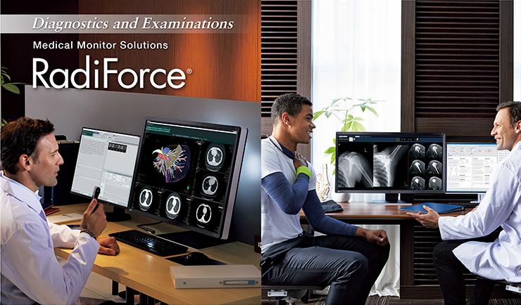 Oferta produktów EIZO w zakresie obrazowania medycznego